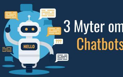 3 myter om Chatbots